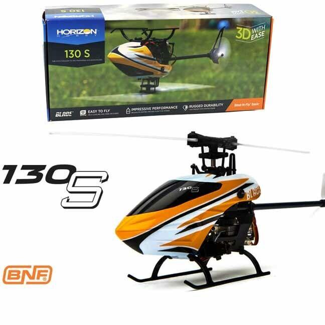 Blade BLH9350 130 S helicóptero Sub-Micro Tamaño BNF Basic con tecnología SAFE