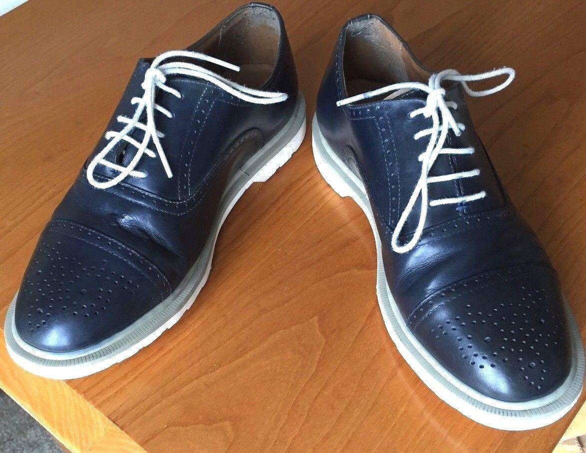 Dr Martens 'Caine' bluee leather shoes UK 7 EU 41