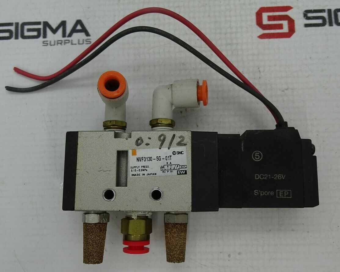 New SMC Solenoid Valve NVF3130-3DZB-01T A//C