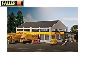 Faller-H0-130981-DHL-Logistik-Zentrum-NEU-OVP