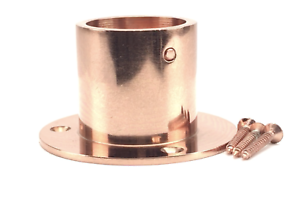 Fitting Copper Bronze Finished Decking Rope Cup Ends To Fit Diameter 32mm Ropes