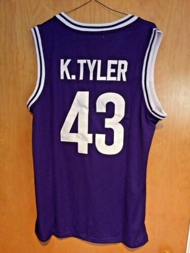 2XL Kenny Tyler #43 The 6th Man Basketball Jersey Marlon Wayans S XL M L