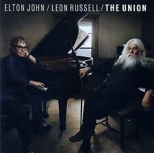 ELTON JOHN - LEON RUSSELL : THE UNION / CD - TOP-ZUSTAND