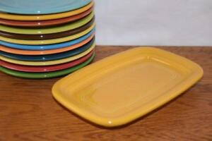 MARIGOLD-Fiesta-Extra-Large-Butter-Dish-TRAY-ONLY-Great-side-plate-tray