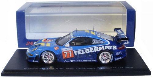 SPARK S2583 PORSCHE 997 Gt3 Rsr   77-GT2 Class Winner Le Mans 2010 SCALA 1/43