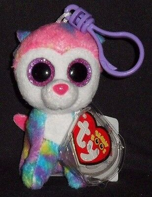 Ty Beanie Boo/'s Key Clip ~ IZABELLA the Husky ~ Claires Exclusive ~ MWMT/'S NEW
