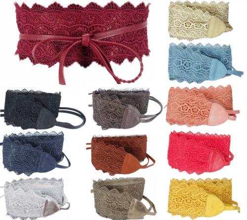 Breiten Gürtel Obi Zum Binden Farbe Auswahl Band Frau Spitze