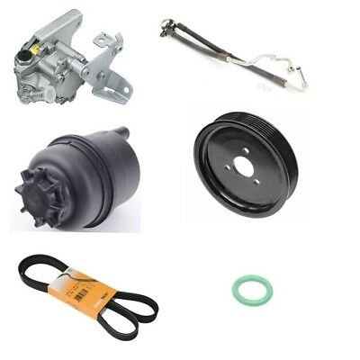 Hose and Reservoir Power Steering Pump Kit for BMW E46 2002-2006 with Pump