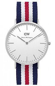 Daniel Wellington Watch * 0202DW Classic Canterbury 40MM NATO Strap #crzyj