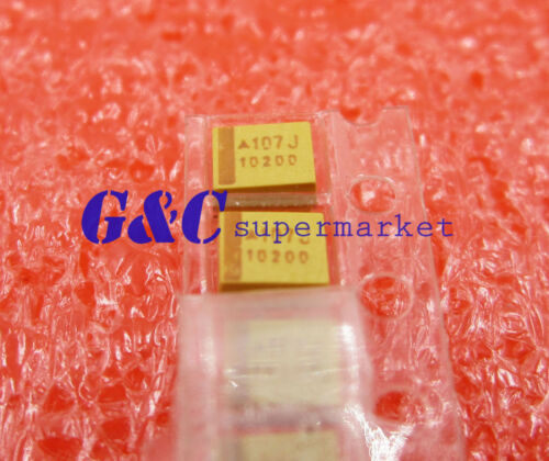 20pcs Tantalum Capacitors 3528 6.3V 100uF Type B 20/% Surface Mount SMD DIY New