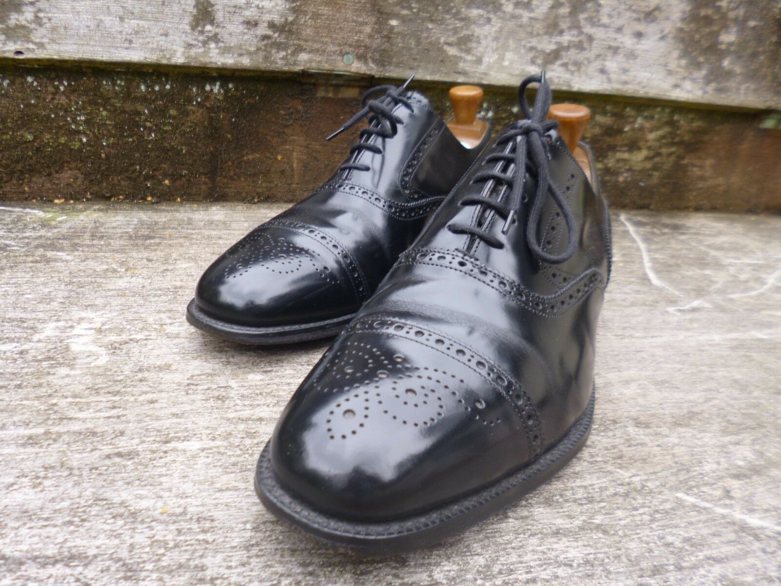 CHEANEY CHEANEY CHEANEY   CHURCH BROGUES – schwarz – UK 9.5 – EXCELLENT CONDITION cec65e