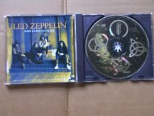 LED ZEPPELIN,BABY COME ON HOME 4:29 , mcd vg+/m- atlantic records USA 1993