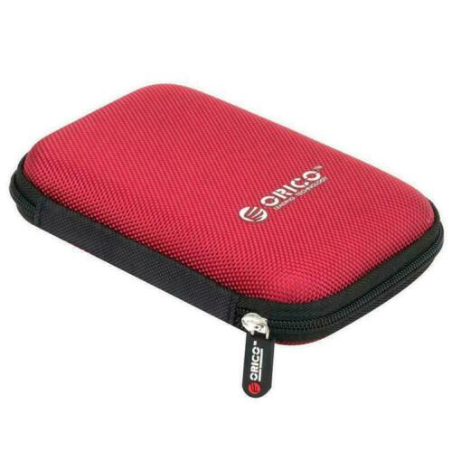 """ORICO Digital Bag 2.5/"""" Seagate Hard Drive HDD Case USB Charger-Cable Storag P6O7"""