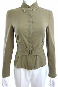 STRENESSE GABRIELE STREHLE Button Down Long Sleeve Blouse SIZE 6 36