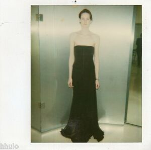 POL350-Polaroid-Photo-Vintage-Original-mode-fashion-mannequin-model-femme-woman