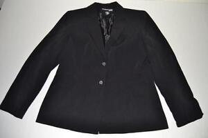 bottoni di 8p Petite cappotto Mcnaughton nera Donna 8 Giacca 2 Taglia Blazer Norton FwtXqcT