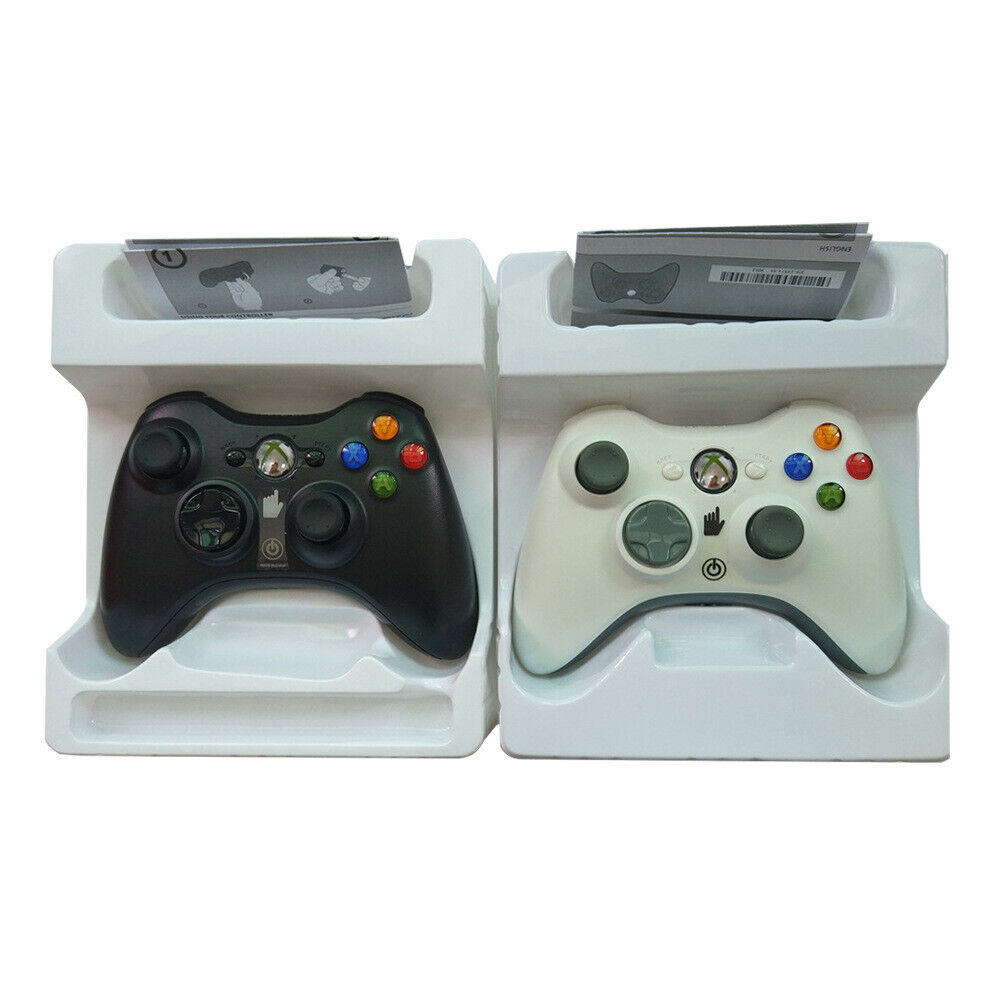 Microsoft Xbox360 Dual Shock Remote Gamepad Bluetooth Wireless Joypad Controller 2