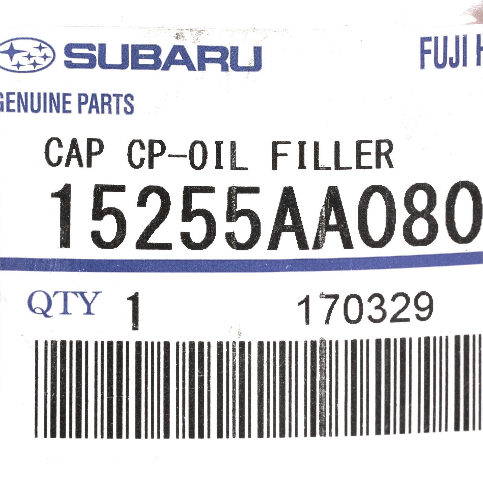 87-02 Subaru Oil Filler Cap Forester Impreza Legacy Outback OEM