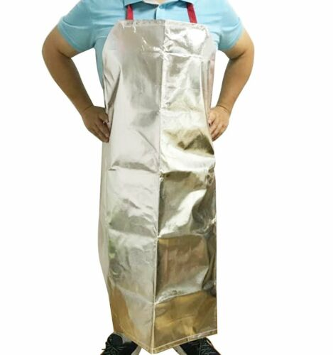 Aluminized Safety Work Heat Resistant Industrial Welding Apron Cooking BBQ Apron