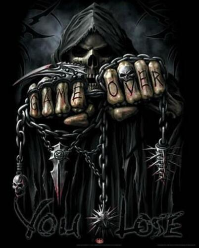 Spiral Mini Poster 40cm x 50cm new and sealed Grim Reaper