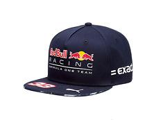 Red Bull Racing F1 Official Adults Max Verstappen Flatbrim Cap - 2017