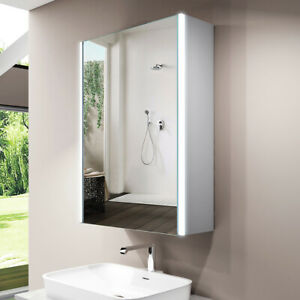 LED Bathroom Mirrors Cabinet Sensor Switch Shaver Socket ...