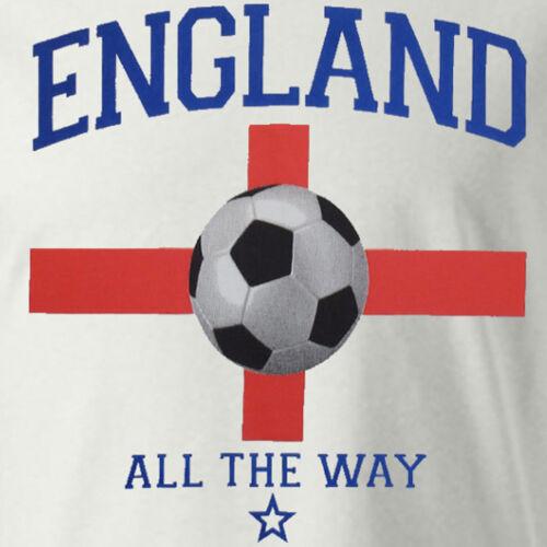 Mens Football T-Shirt 100/% Cotton Tee England Brazil Argentina Germany New