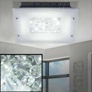 Led 16w decken lampe bl ten esszimmer beleuchtung kristall for Esszimmer leuchte kristall