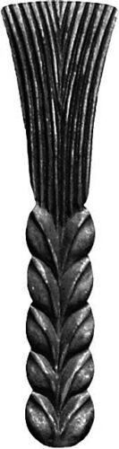 Weizen Roggen aus Stahl Zierelement Dekorativ 009.01 Flügeltore Tor Hersteller