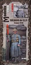 MODELIX Studio 54003 Soldato del CEP Francia 1918 1° guerra mondiale 54 mm