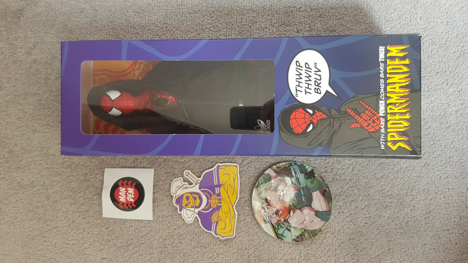 Trappola TOYS Spider-mandem Deluxe Edition   LIMITED 12  (spidermandem Eazy-ha)