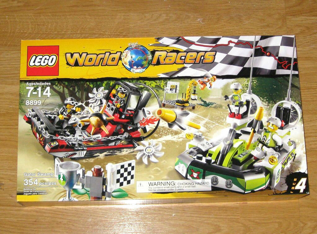 LEGO World Racer 8899 Gator Swamp Brand New Sealed