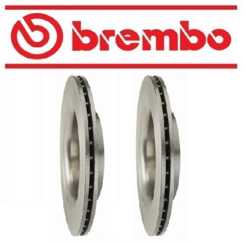 For Volvo XC60 10-17 Set of 2 Rear Disc Brake Rotor Brembo 09B02611