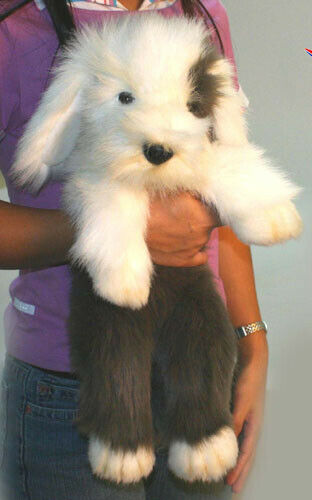 Hansa Sheepdog Dog Pup Cuddly [50cm] Sheep Soft Plush Toy NEW