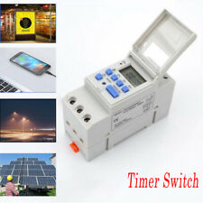 12v24v110v Thc15a Ac Digital Lcd Weekly Programmable Time Relay Timer Switch
