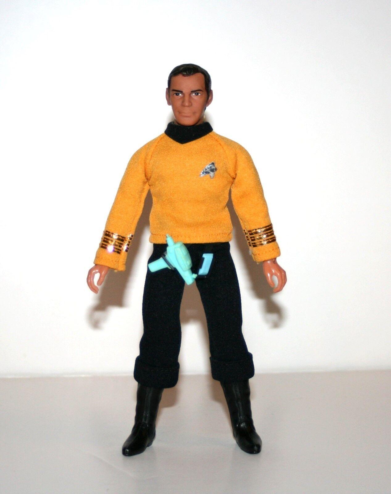 Vintage 1970's Mego CAPTAIN KIRK KIRK KIRK Complete 8  Action Figure - (Star Trek) 40174f