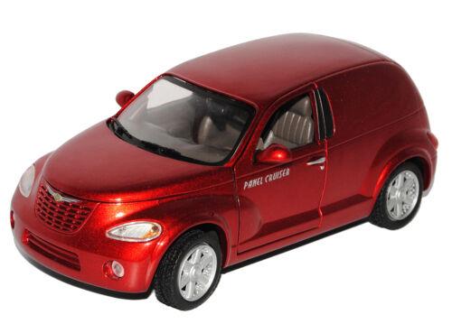CHRYSLER PT-CRUISER PANEL CRUISER ROSSO 2000-2010 1//24 MotorMax modello auto con...