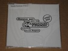 MASTER FREEZ feat. CE CE ROGERS - DONNA SEI (SOLO PER TE) - CD SINGOLO PROMO