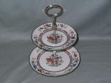Spode Chinese Rose 2-Tier China Hostess Cake Plate Stand