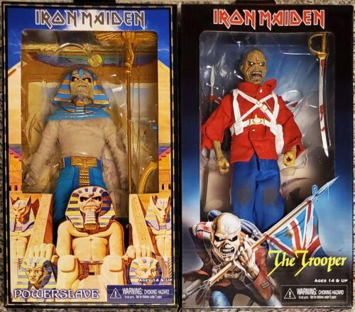 "BRAND NEW et le Trooper 8/"" Clothed figures Pharaon Eddie NECA Iron Maiden"