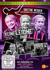 Keine Leiche ohne Lily * DVD Krimikomödie mit Grethe Weiser Pidax Theater Neu Ov