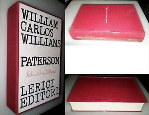 Paterson-William-Carlos-William-1-Ed-Lerici-1966