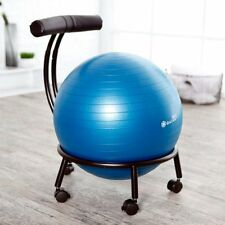exercise ball chair with arms gym fitness workout posture balance