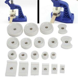 20X-Orologio-Back-Case-in-cristallo-di-stampa-piu-vicino-RACCORDO-Repair-Tool-Kit-Set-muore