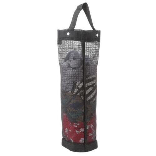 Plastic Bag Holder Dispenser Mesh Storage Tash Garbage Bags Organizer Hanging YD