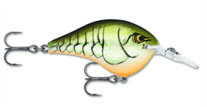 "Rapala Dives To 14 /""Rootbeer Crawdad/"""
