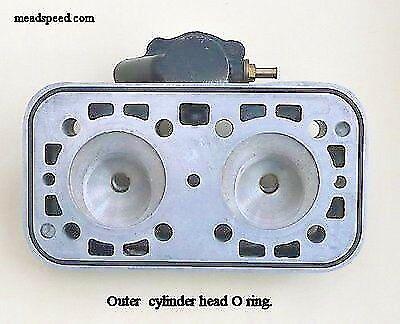 NEW YAMAHA TZ 250 350 TZ350 CYLINDER HEAD O-RING OUTER 93211-94212