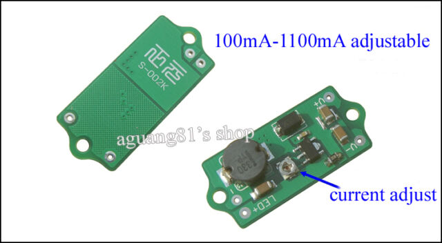30W Constant Current LED Driver 1100mA DC10-33V XPG XTE XPE DIY Flashlight