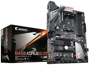 Gigabyte-B450-AORUS-ELITE-ATX-Motherboard-AMD-Socket-AM4-AMD-B450-Chipset