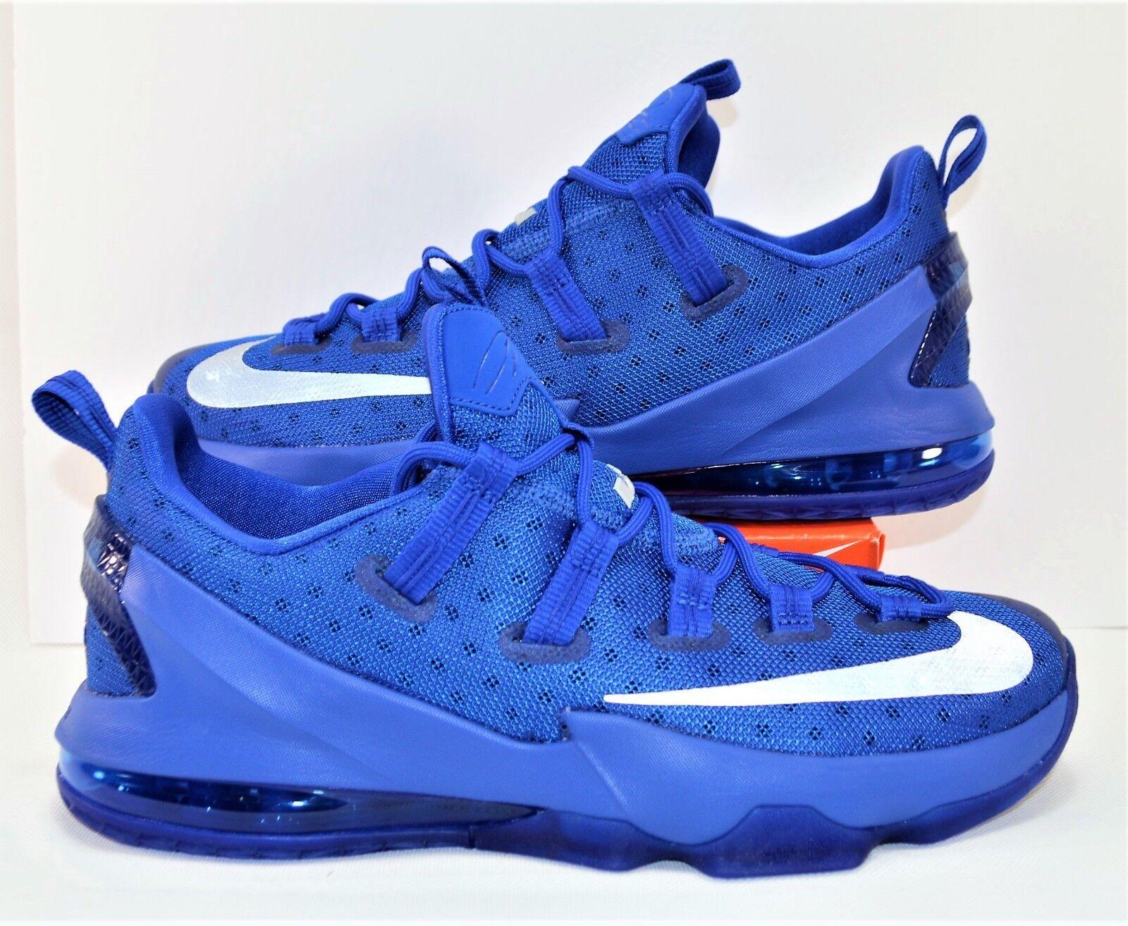 Nike LeBron 13 XIX II  Low Kentucky blu Basketball scarpe Sz 12 NEW 831925 400  basso prezzo del 40%